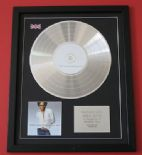 LENNY KRAVITZ - Greatest Hits CD / PLATINUM presentation DISC